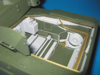 Leopard 2 engine compartment